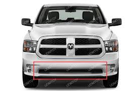 dodge ram white grill 2009 up dodge ram 1500 express cree 240w curved led light bar
