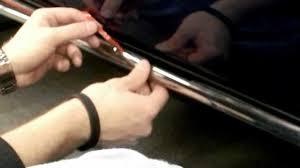 nissan murano door trim clips retro usa challenger rocker molding installation youtube