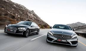 audi mercedes road test audi s5 coupé vs mercedes amg c43 coupé carmag co za