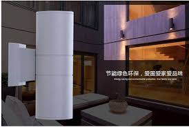 Outdoor Wall Sconce Up Down Lighting Epistar Up U0026 Down Outdoor Wall Light Exterior Wall Sconce Lights