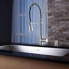 kitchen sinks designs kraus khu100 30 kpf1612 ksd30ss 30