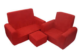sofa chair and ottoman set fun furnishings 3 piece kids sofa chair and ottoman set reviews