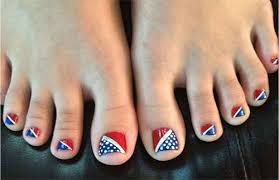 10 4th of july toe nail designs ideas 2016 fourth of july