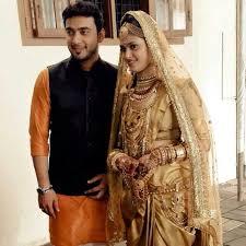 muslim and groom kerala muslim and groom indian wedding jewellery