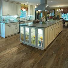 Grey Wood Floors Kitchen by Organic 567 Engineered Hardwood Hallmark Floors