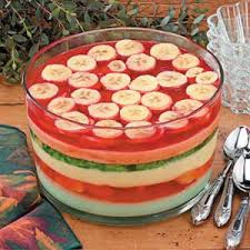 six layer gelatin salad recipe taste of home