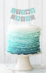baby shower boy cakes boy baby shower cake topper its a boy cake topper baby