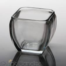 Black Square Vases Buy Square Glass Candle Holders U0026 Vases In Bulk Quick Candles