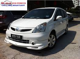 accessories nissan grand livina used nissan for sale by carstation