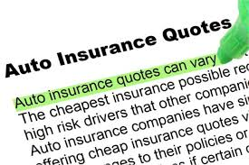 a new auto insurance quote comparison is required for the safety of your car