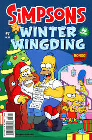simpsons winter wingding 6 guardian snow angel it u0027s snow game
