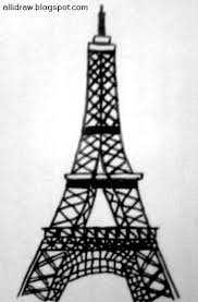 eiffel tower painting my sketchbook allidraw sketches by