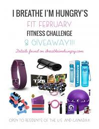 Challenge Can You Breathe Fit February Challenge Giveaway I Breathe I M Hungry