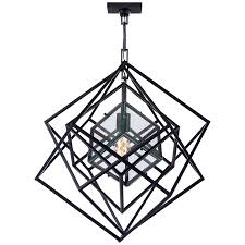 Small Chandeliers Visual Comfort Kelly Wearstler Cubist Small Chandelier In Aged