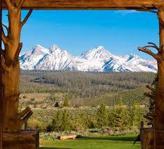 Rocky Mountain Range Map Idaho Rocky Mountain Ranch Visit Idaho