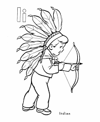 abc alphabet coloring sheets indian boy honkingdonkey