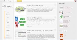 Sitemap Blog Blogger Tutorials Seo Tips And Tricks Widgets How To Find