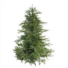 the aisle pre lit oregon noble 6 5 green fir artificial
