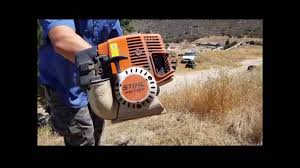orbitrim trimmer head on stihl youtube