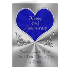 45th wedding anniversary 45th wedding anniversary gift new 45th anniversary wedding gifts