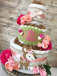 shabby chic baby shower decorations floral woodland cake for rustic floral baby shower