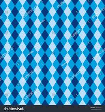 seamless blue diamond harlequin background pattern stock vector
