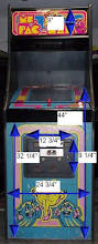 Ms Pacman Cabinet Wouter U0027s Page Arcade Cabinet Dimensions