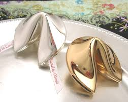 silver fortune cookie gift silver fortune cookie keepsake box asian theme wedding favors