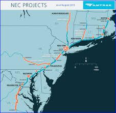 Amtrak Train Tracker Map by Amtrak U0027s New Hudson River Tunnel