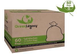 Tall Trash Can by Amazon Com Trash Bags Health U0026 Household Tall Kitchen Bags