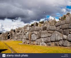 large polished dry stone walls of the saksaywaman military inca