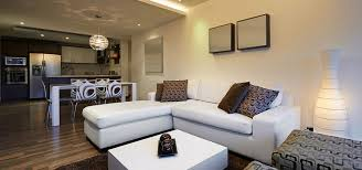 Basement Renovation - decor white leather sectional sofa design ideas with ceiling