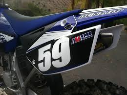 yamaha motocross gear product report ufo yz restyling kit transworld motocross