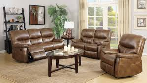 faux leather reclining sofa 7283 reclining sofa in weathered brown faux leather w options