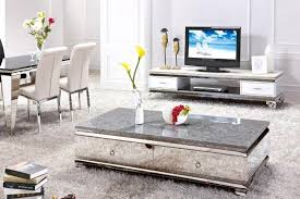 Modern Italian Coffee Tables Wonderful Glass Top Mirrored Coffee Table Stainless Ideas