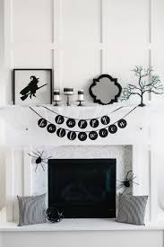 how to style a glam halloween mantel mantels holidays and
