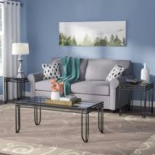 Black Living Room Tables Black Coffee Table Sets You Ll Wayfair
