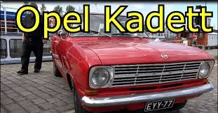 Opel Kadett Old Classic Car Youtube