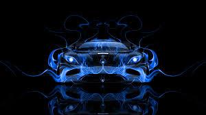 koenigsegg car blue koenigsegg agera front fire abstract car 2014 el tony