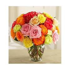 multicolored roses multicolored roses uganda flowers and gifts