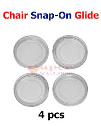 Wrought Iron Patio Furniture Glides by 4 Pieces Snap On Table Leg Cup Feet Clear Vinyl Round Cup Insert