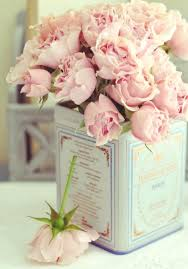 imagenes de rosas vintage rosas en lata vintage flores pinterest latas rosas y la lata