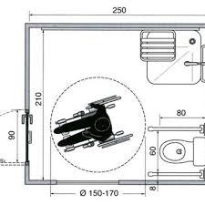 norme handicapé chambre les plans d une salle de bains aménagée pour un fauteuil roulant