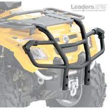 can am atv new oem front xt bumper brush guard kit outlander