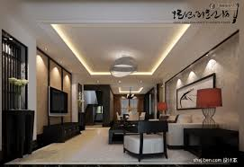China Decorations Home by Design Chinese Style Double High Ceiling Living Room Tv Background