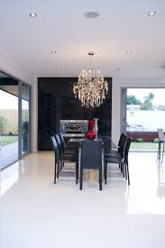 Glass Chandeliers For Dining Room Dining Room Modern Room With Glass Pane Window And Glass