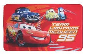 Disney Bath Rug Pixar Cars Tpr Bath Mat