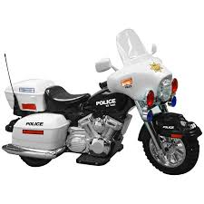 boys motorcycle riding boots kid motorz police motorcycle battery powered riding toy walmart com