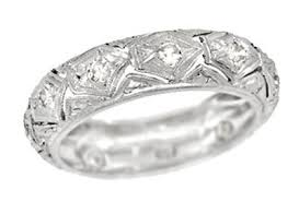 antique wedding bands vintage wedding rings for womens antique wedding bands