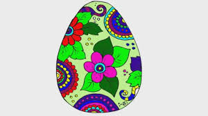 coloring pages easter egg coloring video for children youtube